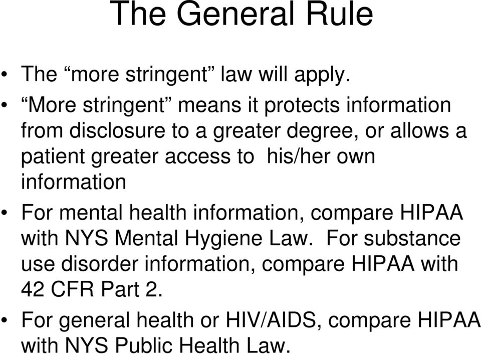 Sharing Mental Health Information In Correctional Settings Hipaa And
