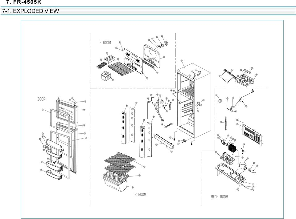 Exploded View Part List