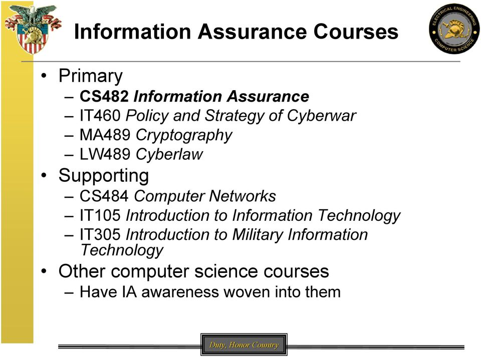 Networks IT105 Introduction to Information Technology IT305 Introduction to