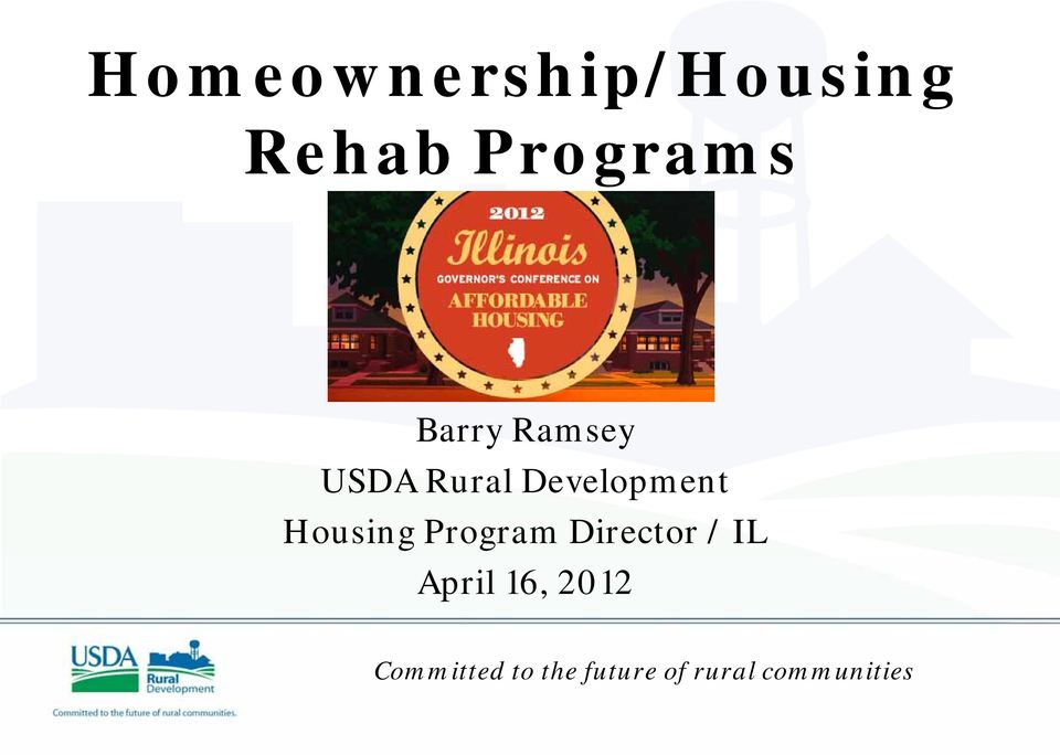 Development Housing Program Director / IL