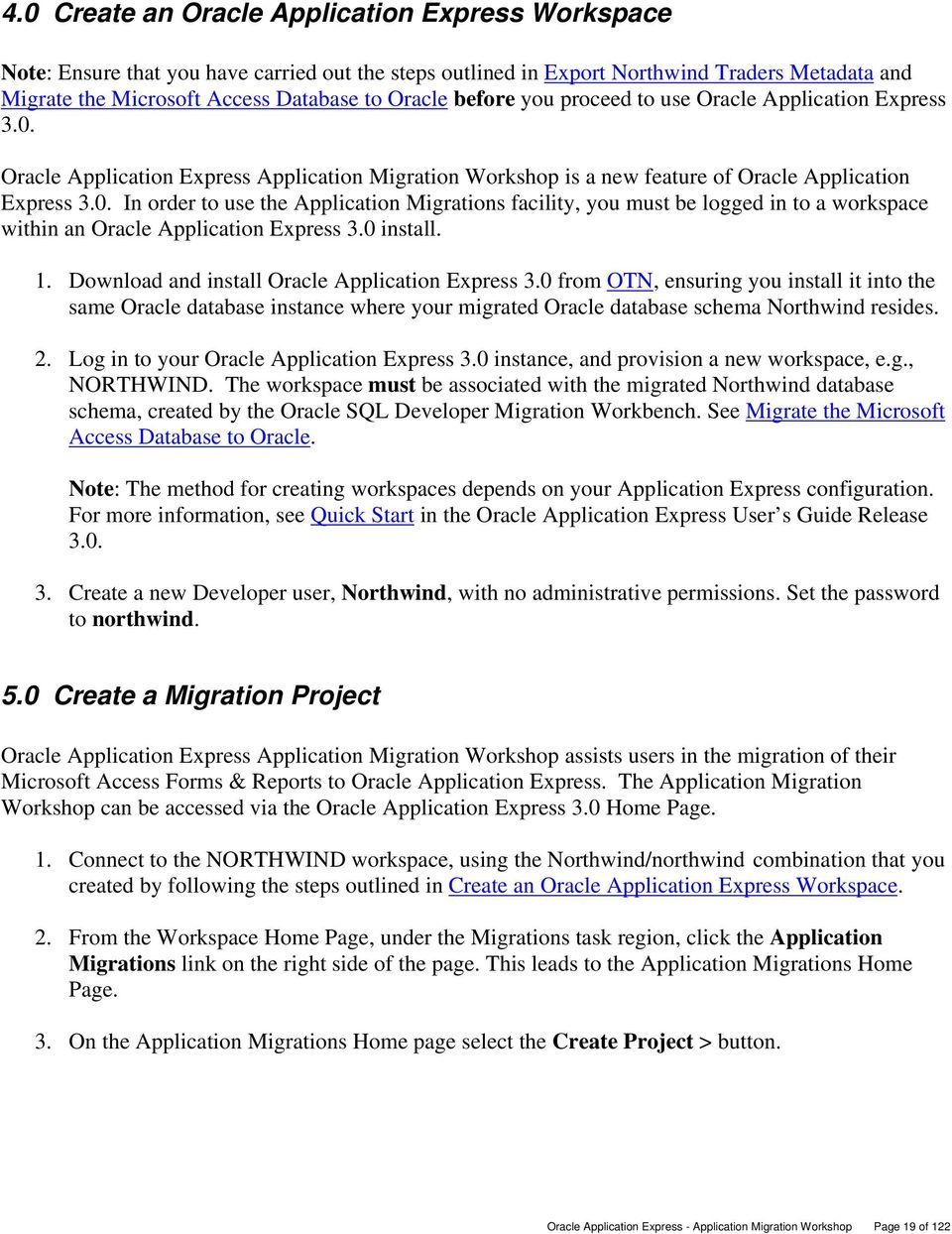 Oracle Application Express - Application Migration Workshop - PDF