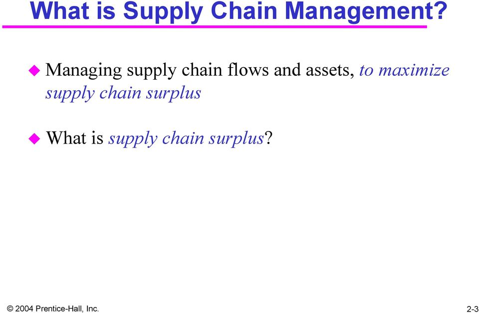 Chapter 2 Supply Chain Performance: Achieving Strategic Fit