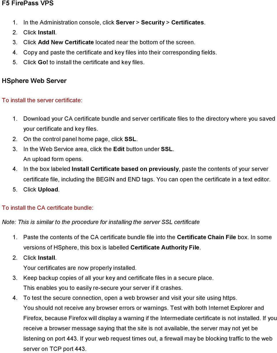 1 If There Is A Temporary Ssl Certificate In Your Serverrootssl