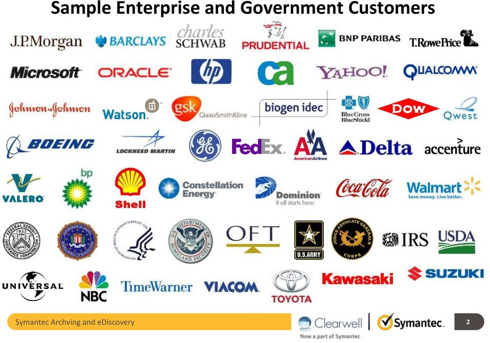 Customers Symantec