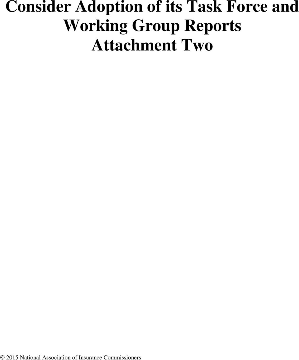 Attachment Two 2015 National