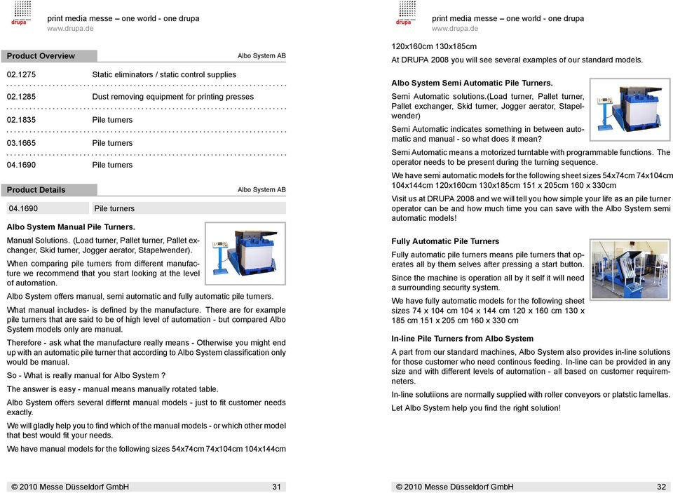 Personal Guide For Search Criteria Print Media Messe One