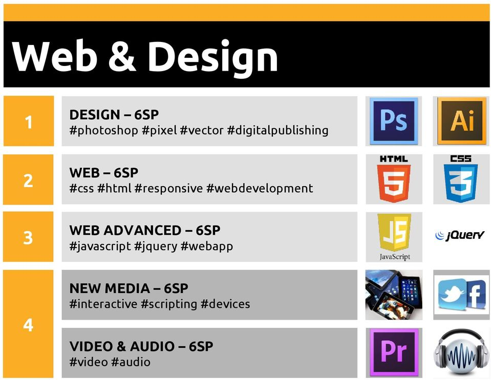 #webdevelopment WEB ADVANCED 6SP #javascript #jquery #webapp