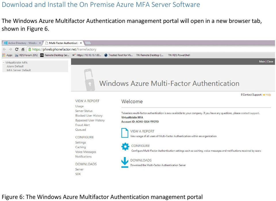 Using RD Gateway with Azure Multifactor Authentication - PDF