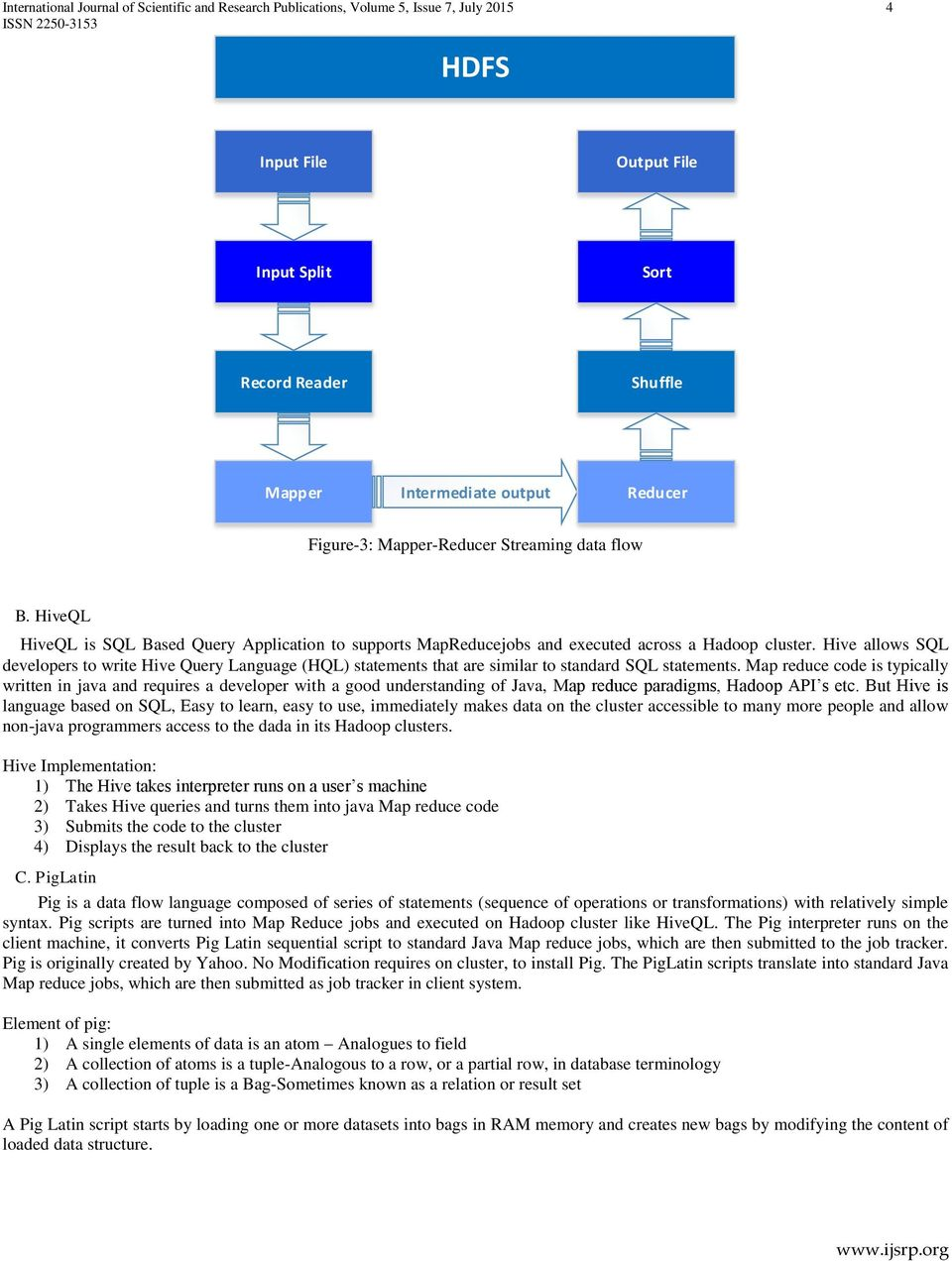 Internals of Hadoop Application Framework and Distributed File