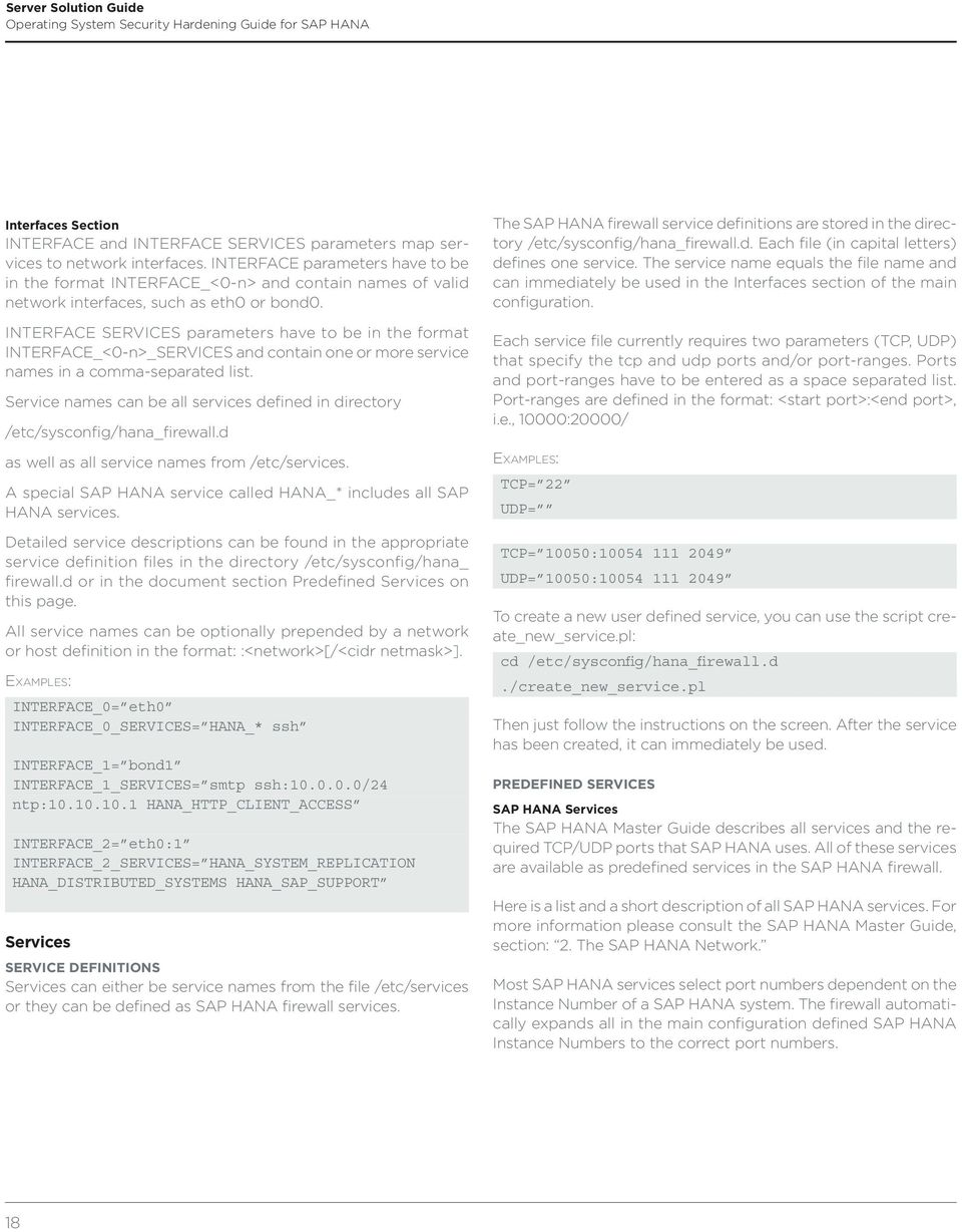 Guide  Operating System Security Hardening Guide for SAP