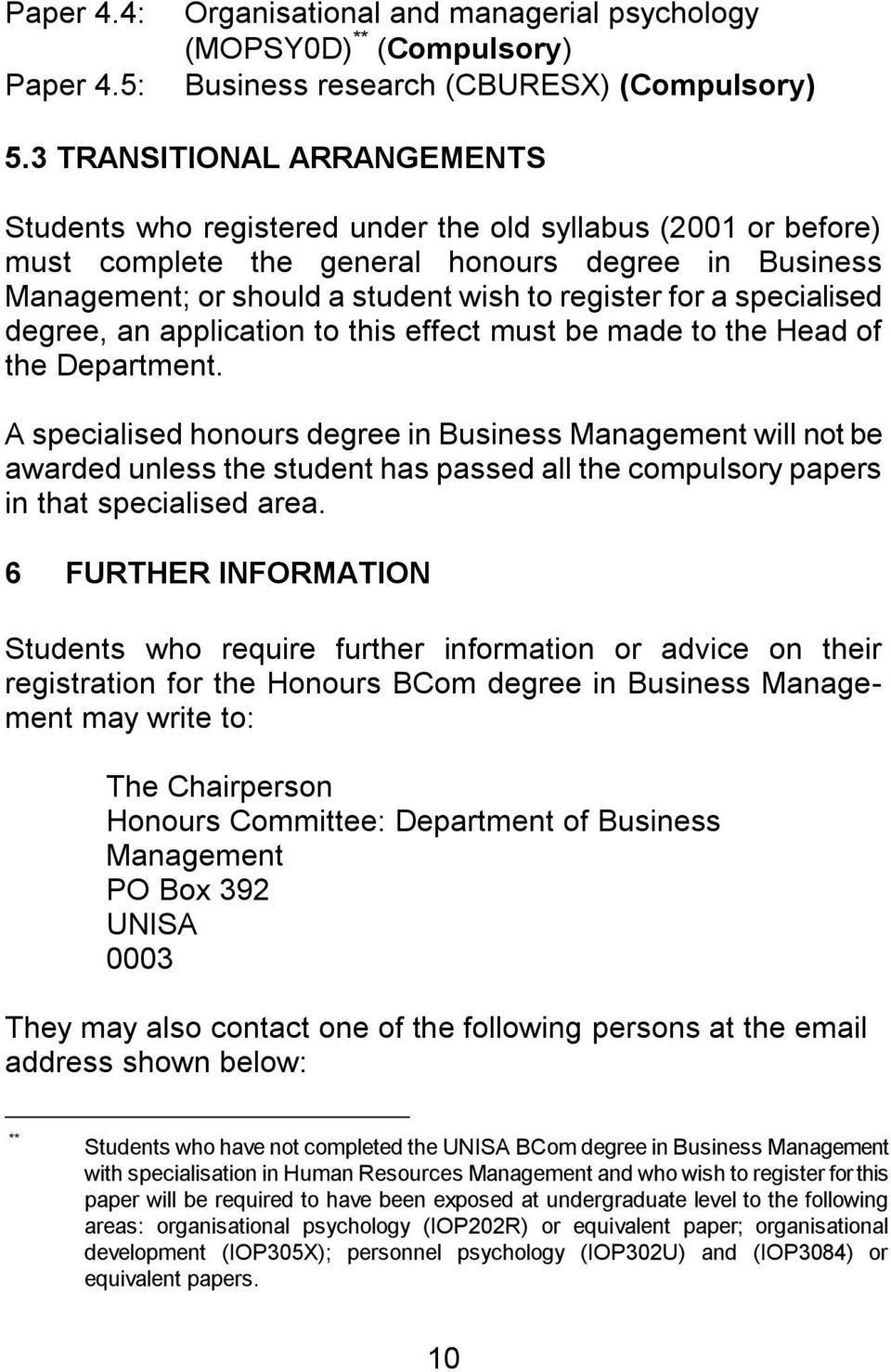 Information On The Honours Master S And Doctoral Degrees In