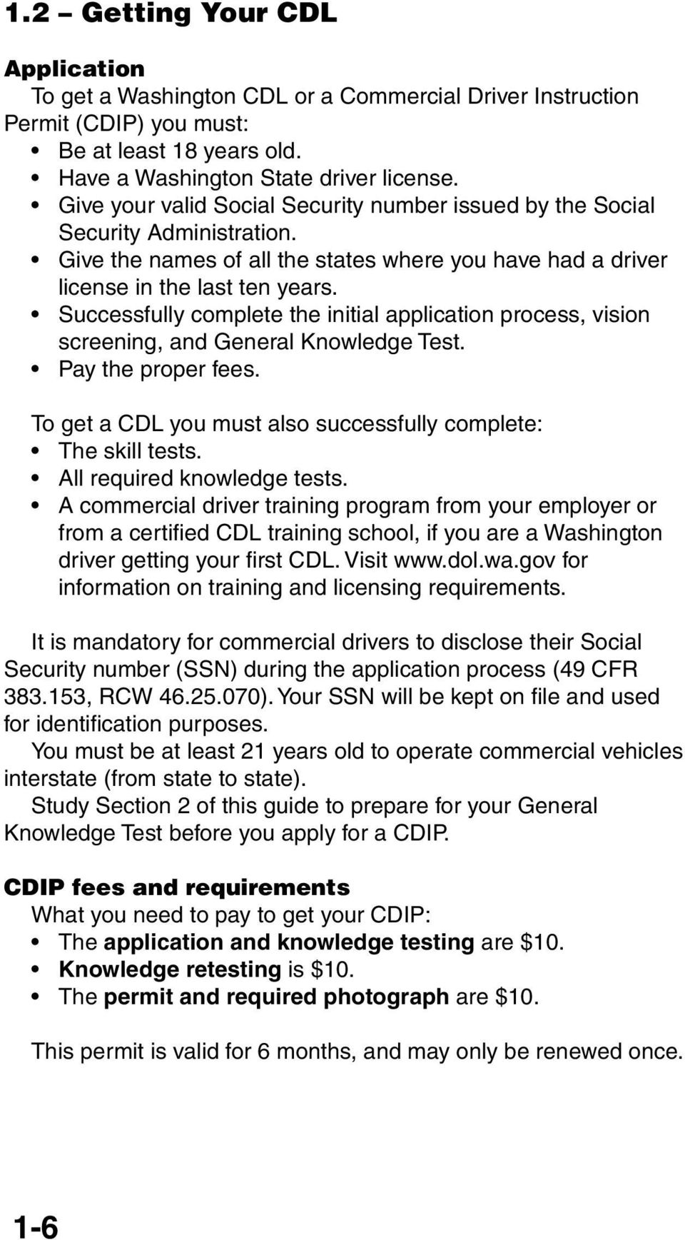 Commercial Driver Guide - PDF