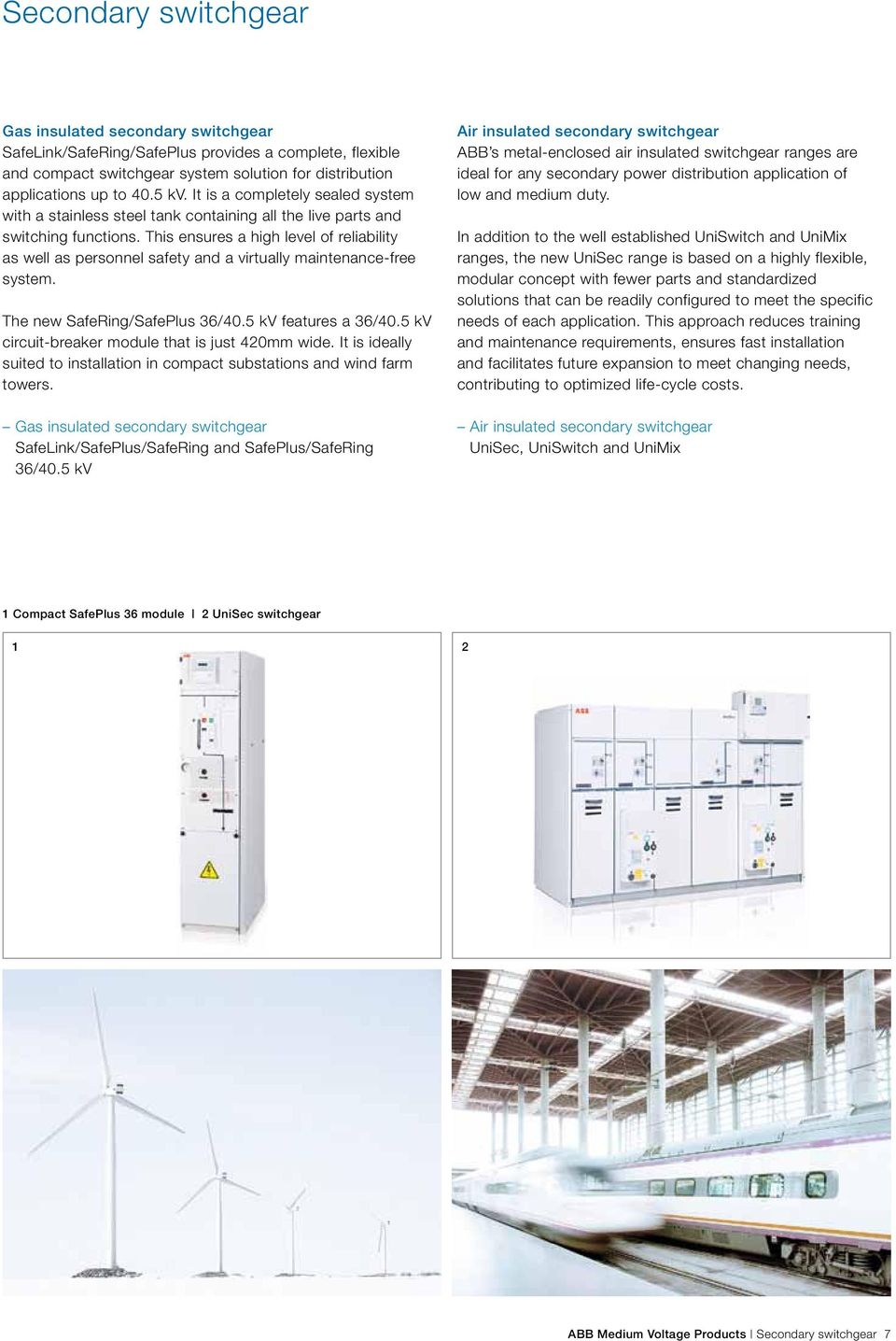 Product overview brochure  ABB Medium Voltage Products Our