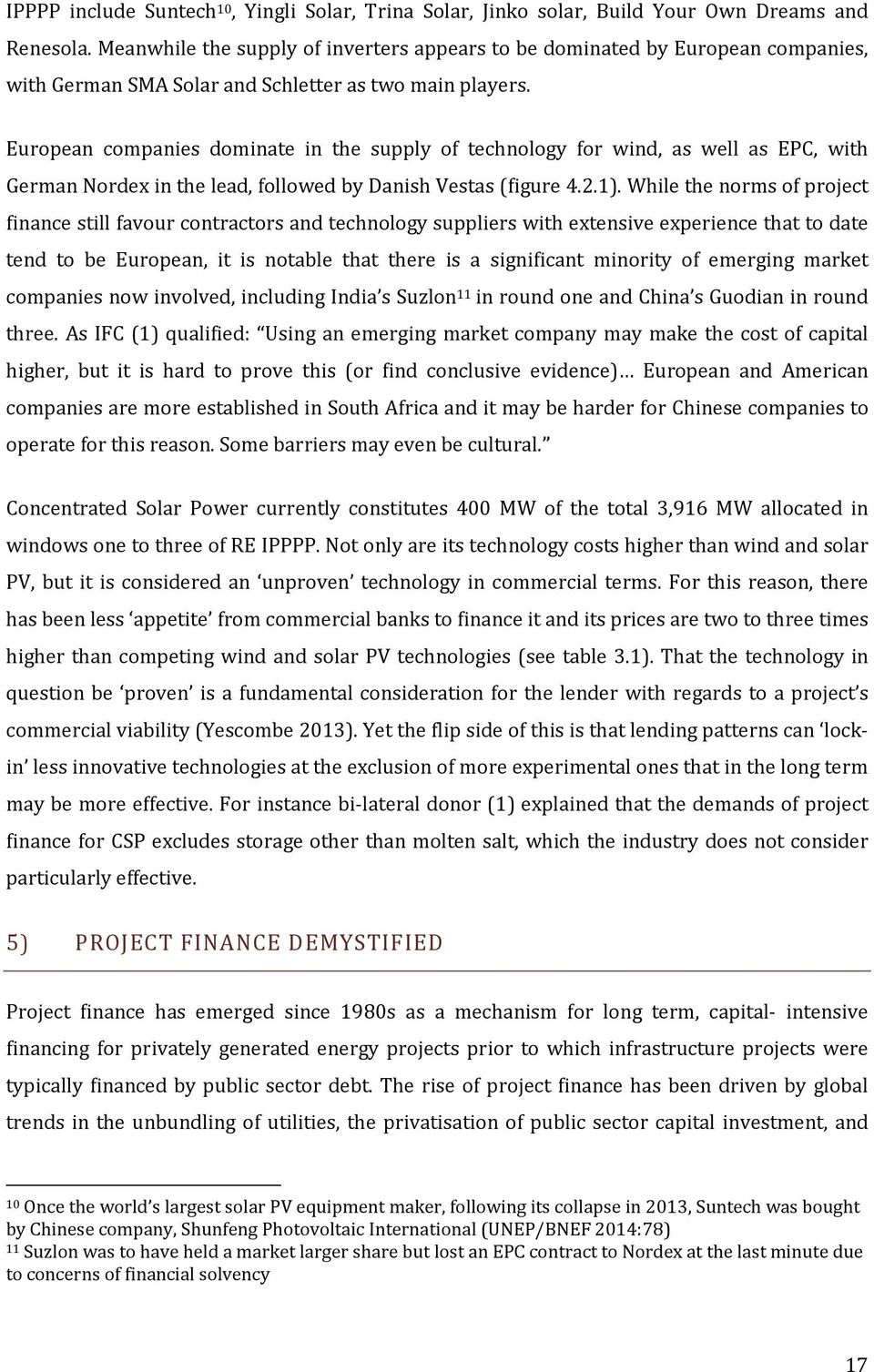 South Africa's Renewable Energy Procurement: A New Frontier