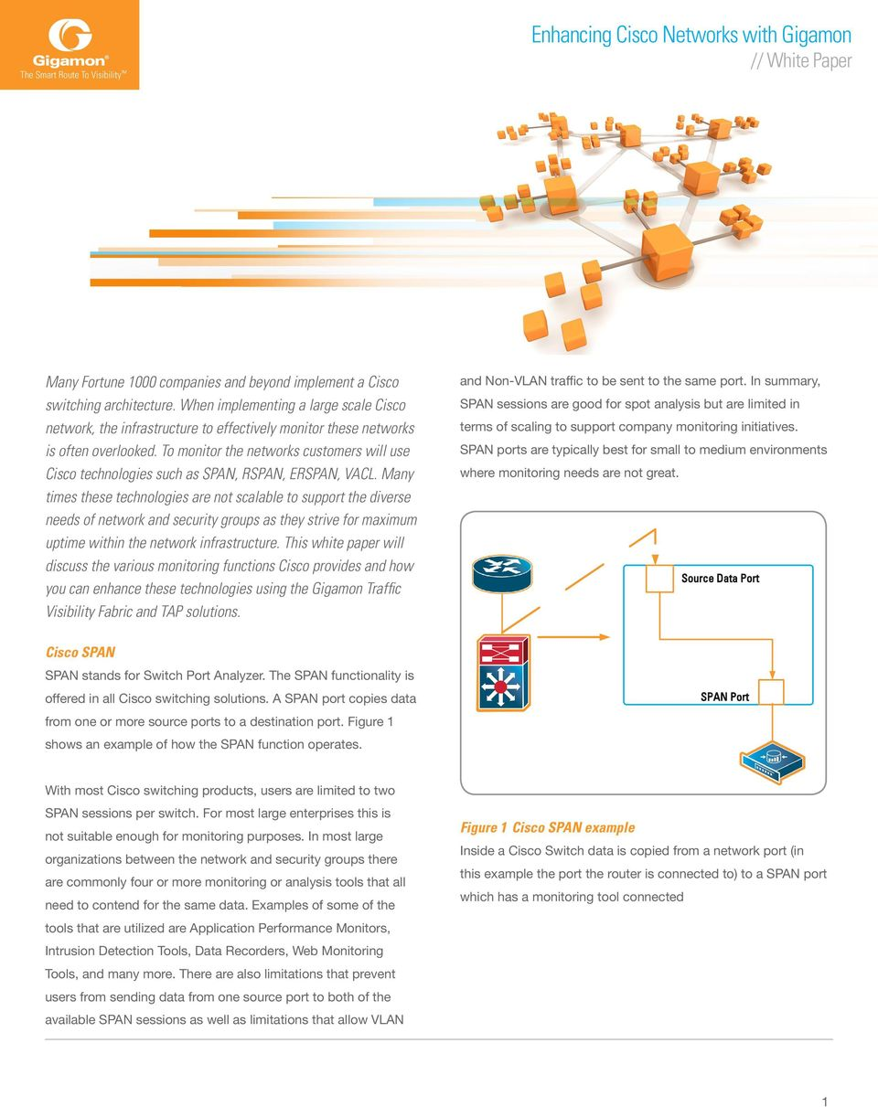 Enhancing Cisco Networks with Gigamon // White Paper - PDF