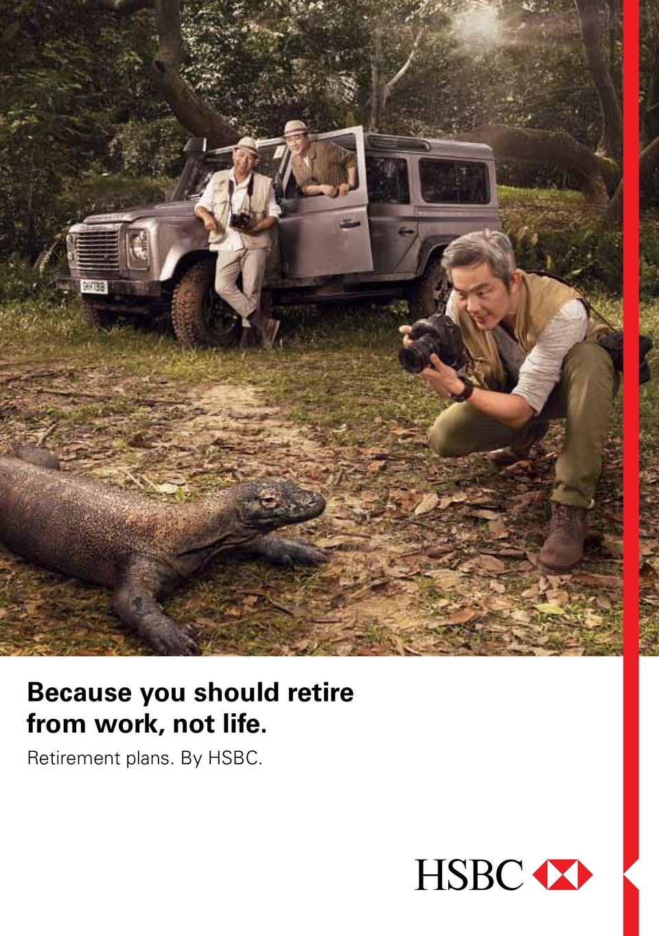 Because you should retire from work, not life  Retirement