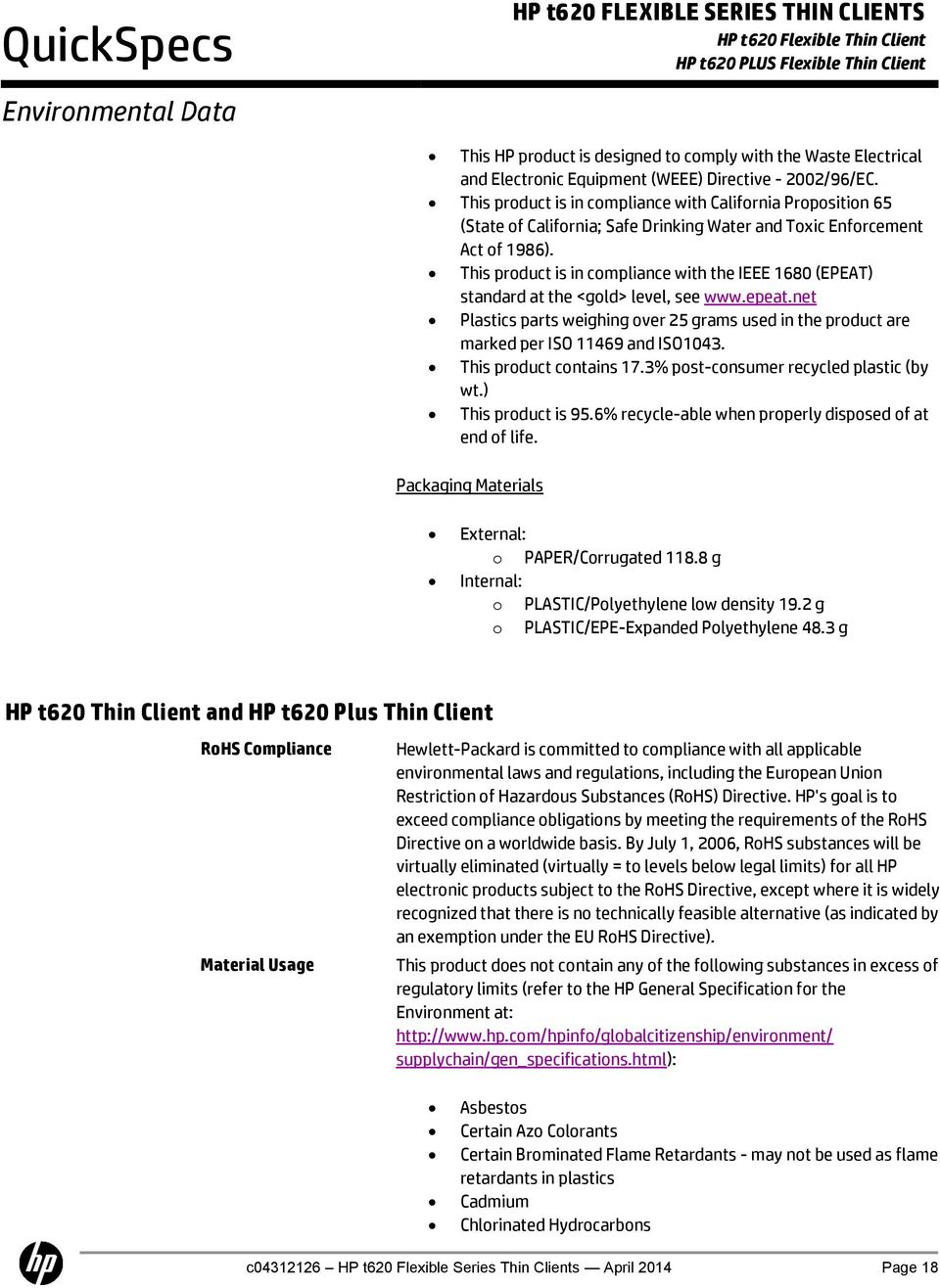 Hp Thin Client End Of Life Dates