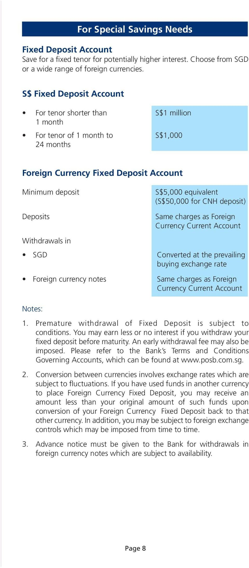 The topic of currency deposits is intentionally thrown