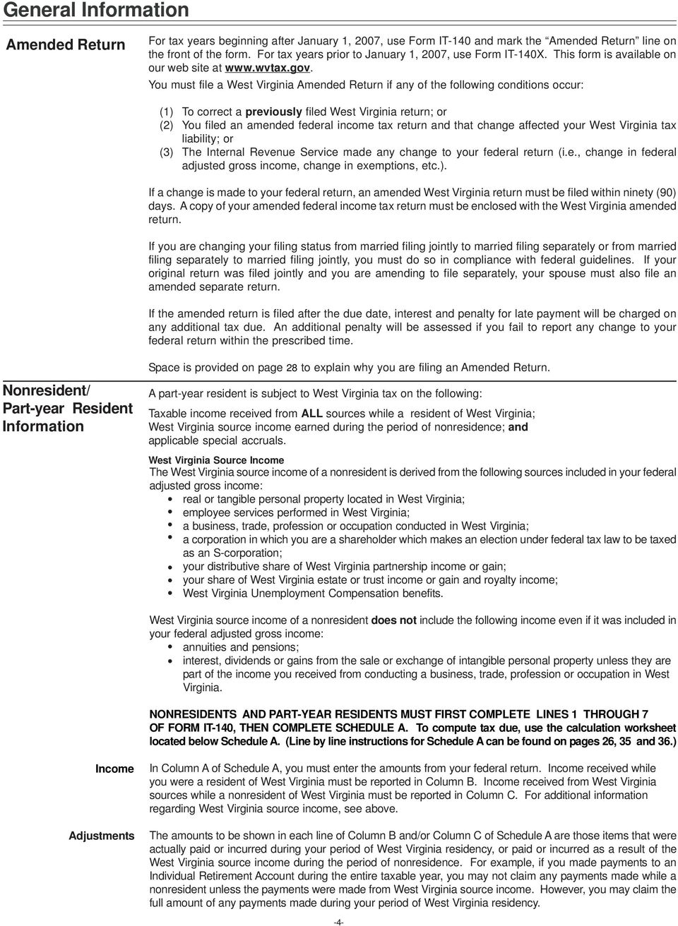 Personal Income Tax Forms and Instructions NEW FOR TAX YEAR PDF