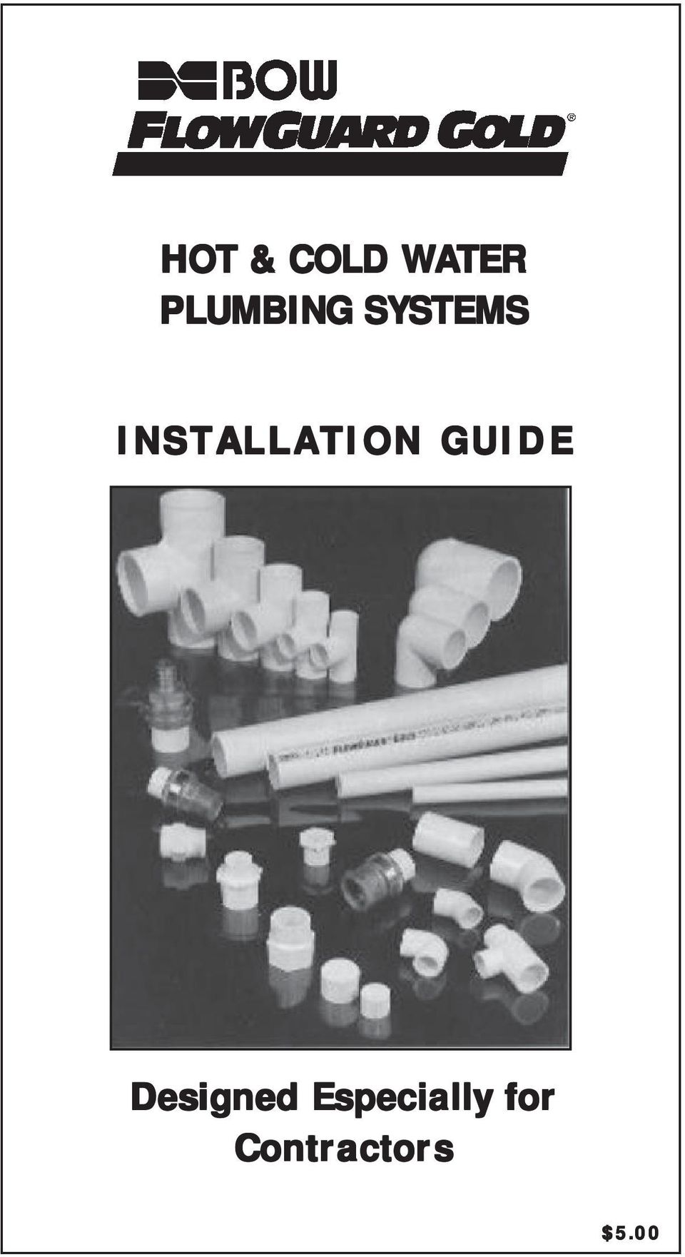 HOT & COLD WATER PLUMBING SYSTEMS INSTALLATION GUIDE - PDF