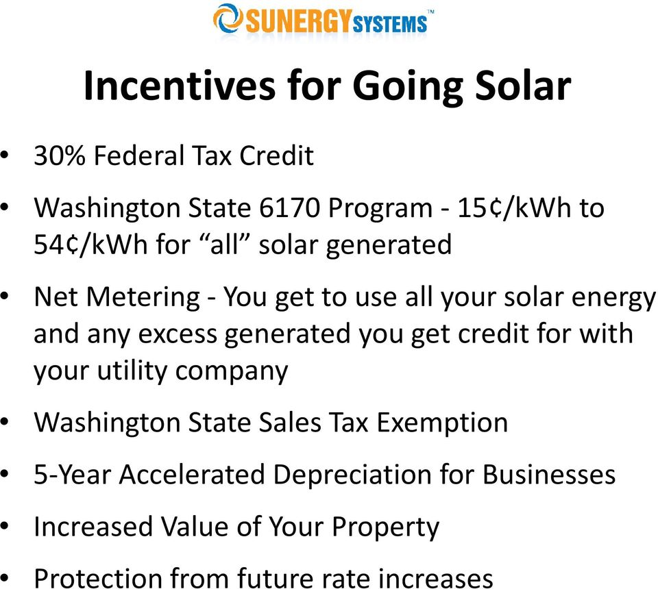 Calculating Solar Energy System Performance Payback Pdf How Gfci Circuits Protect You Wenatchee And Chelan Home Inspections Get Credit For With Your Utility Company Washington State Sales Tax Exemption 5 Year