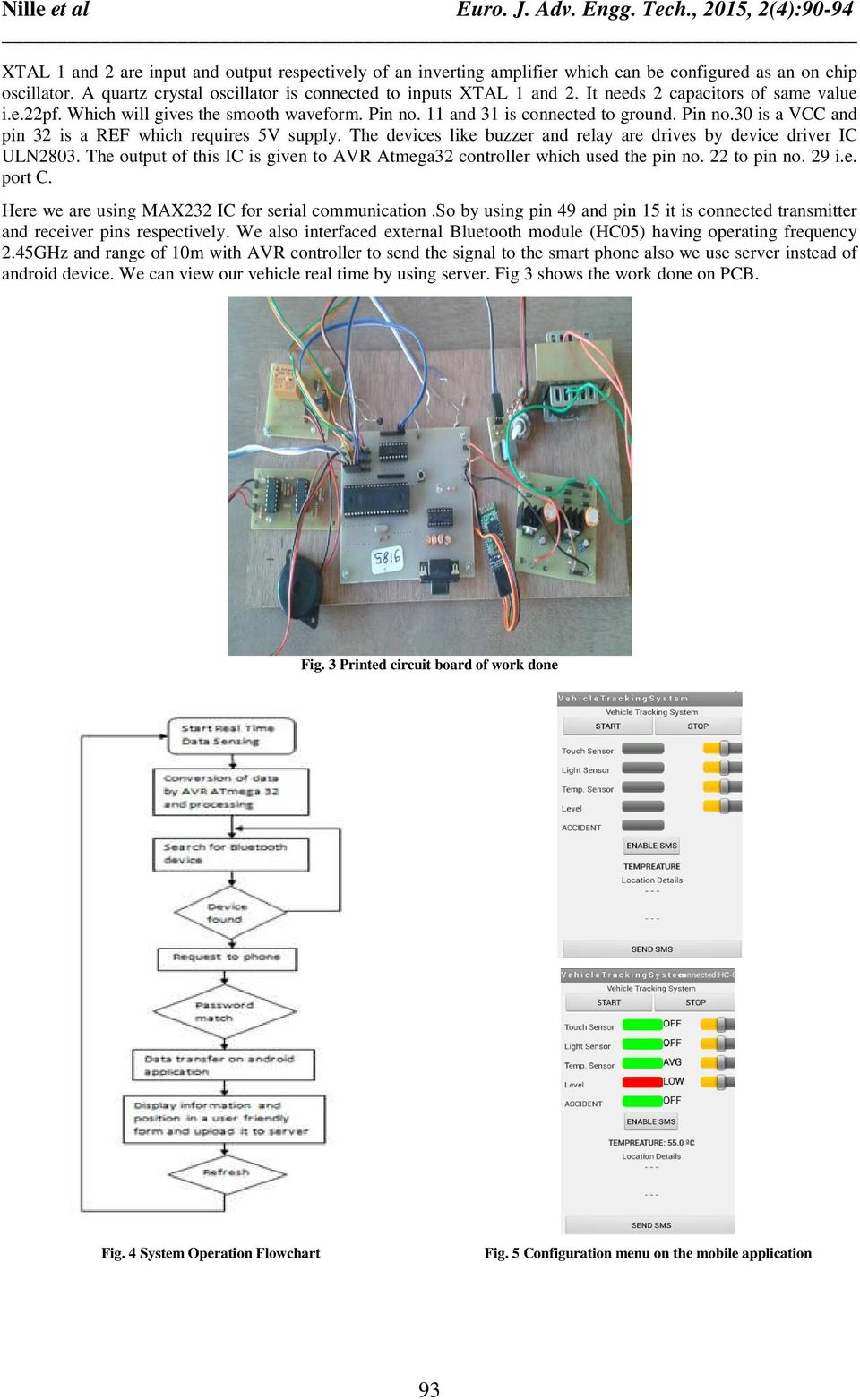 Wireless Vehicle Monitoring And Safety System Pdf Relay Uln2803 Circuit The Devices Like Buzzer Are Drives By Device Driver Ic Output