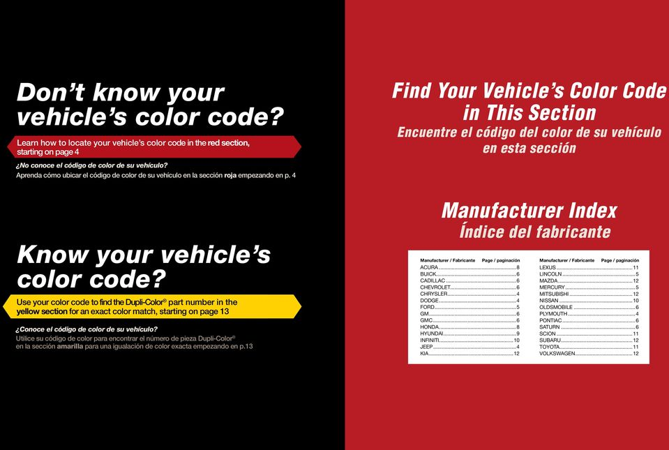 Find your vehicle s color code - PDF