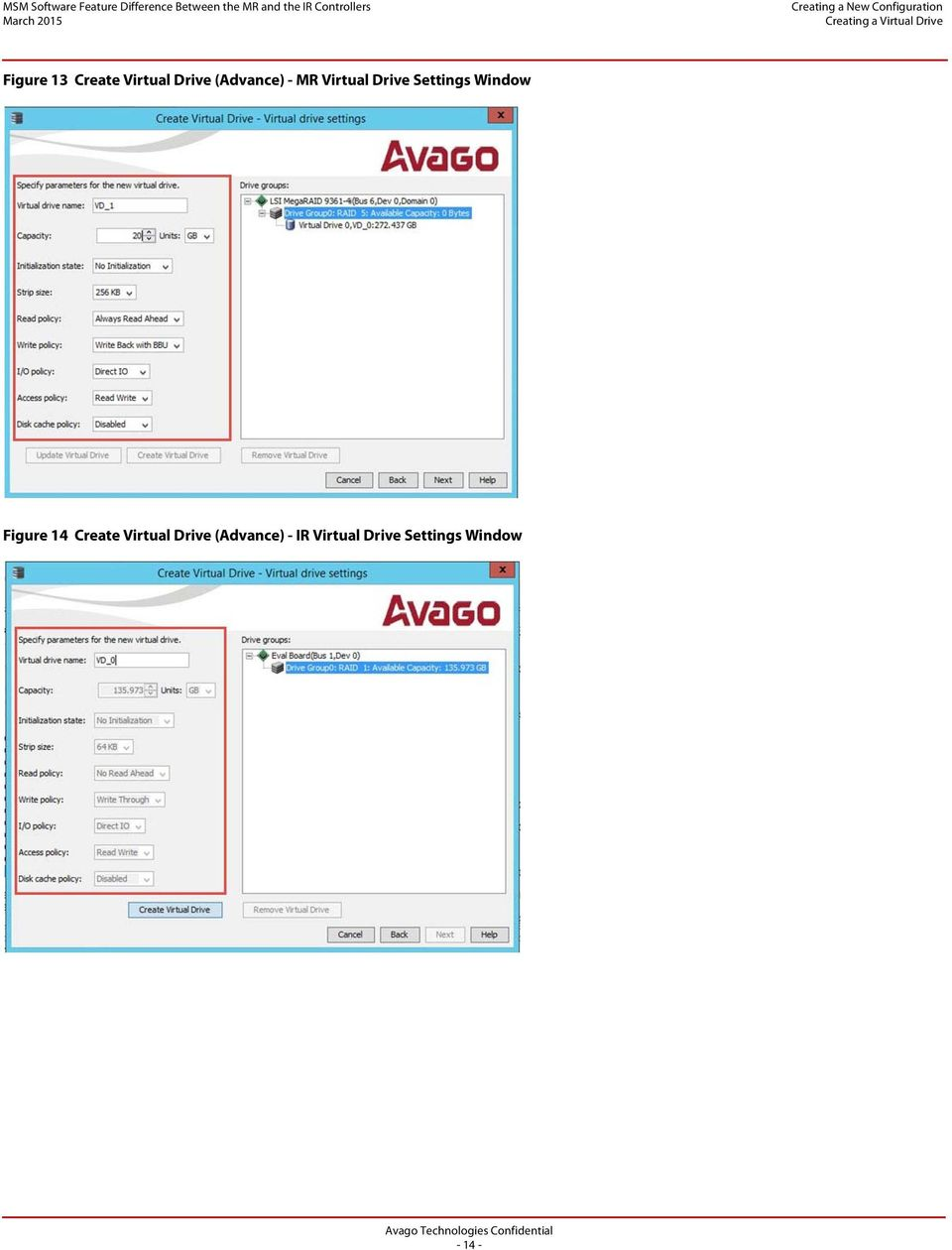 MSM Software Feature Difference Between the MR Controller