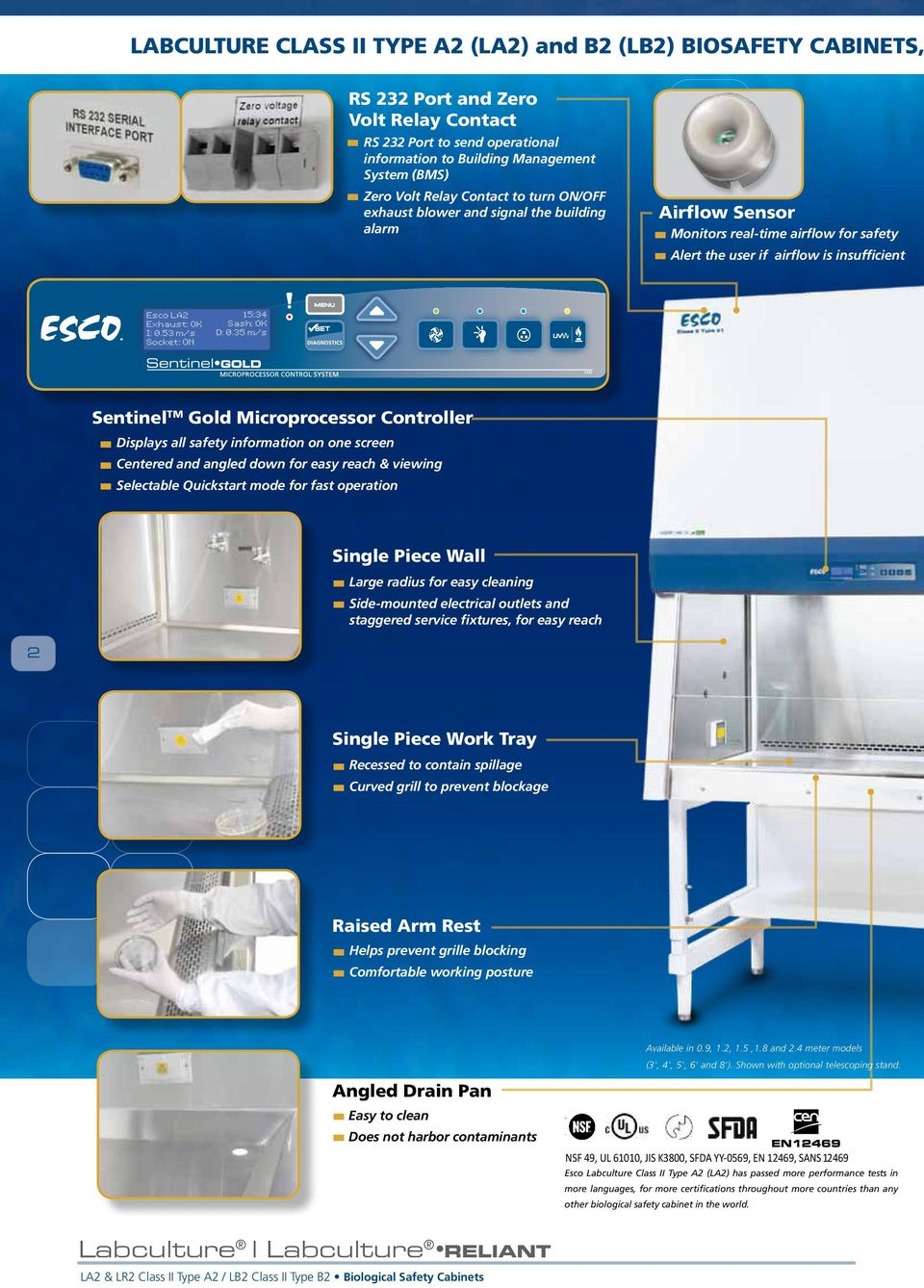 Class Ii Type A2 And B2 Biological Safety Cabinets The Most