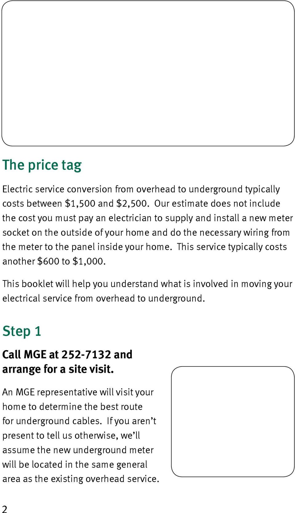 Your Electric Service From Overhead To Underground Pdf Wiring Meter Diagram Appalachian Power Home This Typically Costs Another 600 1000 Booklet Will Help