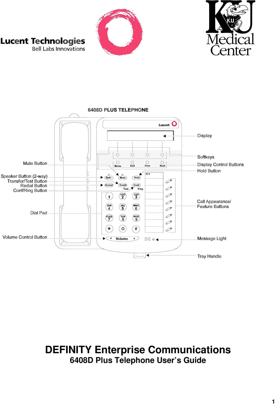 2 About Your Telephone The 6408D Plus Is A Multi Line With Conventional Touch Tone Dialing By 24 Character Display And Two Way