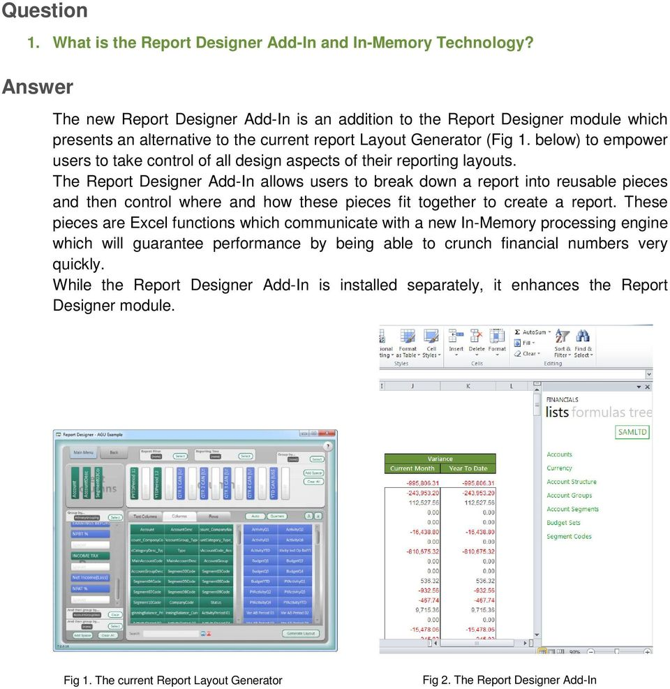 Report Designer Add-In v1 1  Frequently Asked Questions - PDF