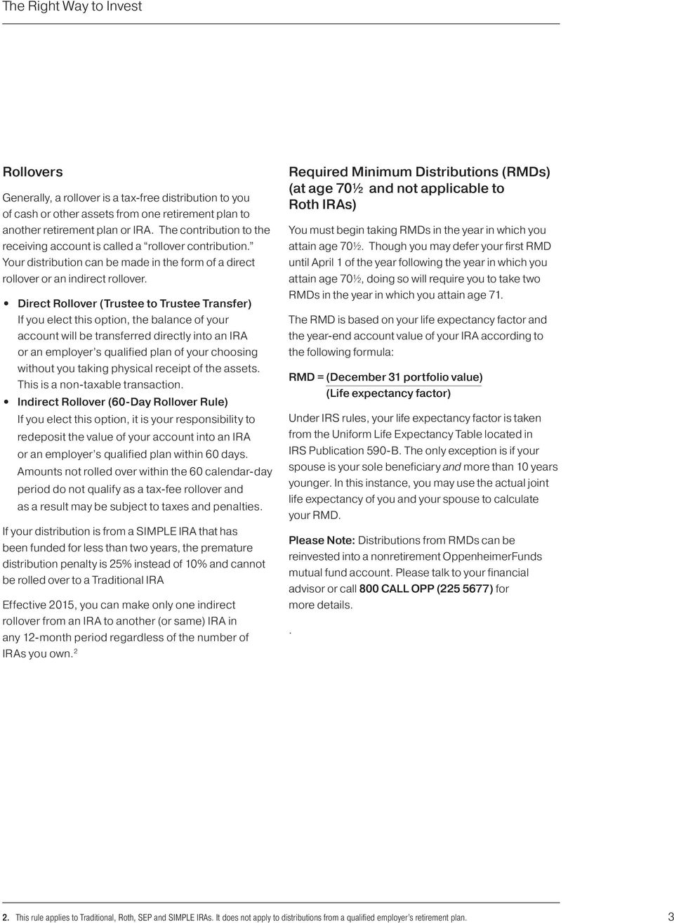 IRA Distribution Instructions and Forms for Original Account Holders ...