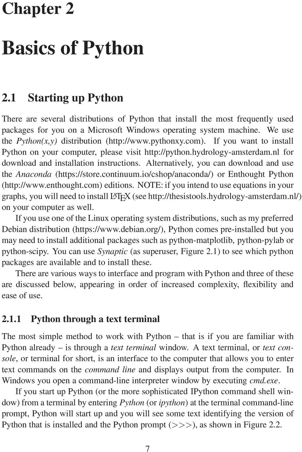 Python programming guide for Earth Scientists  Maarten J  Waterloo
