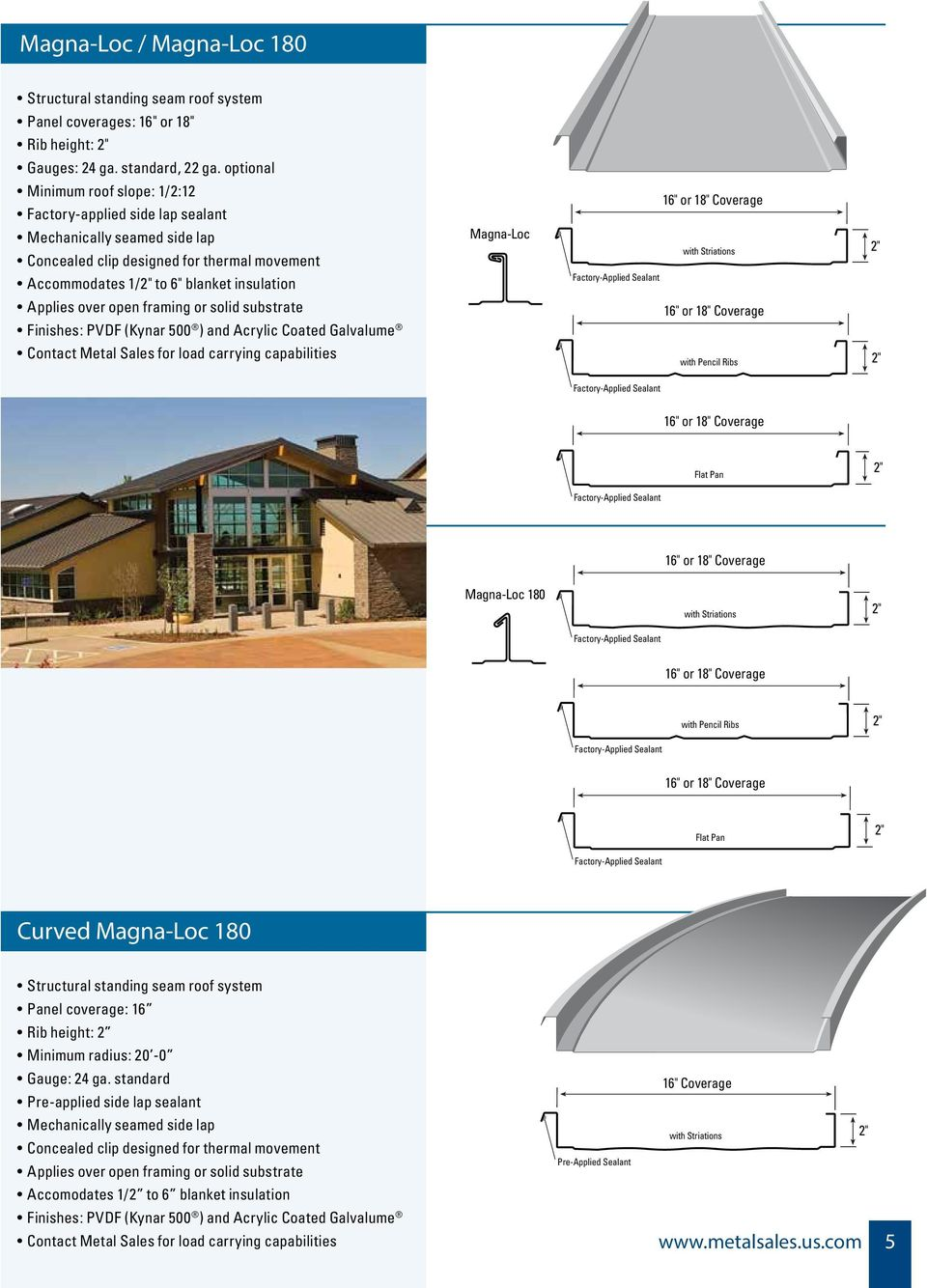 metal architectural systems - PDF