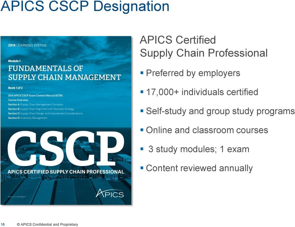 apics supply chain council affiliate update pdf rh docplayer net CSCP Training Online CSCP Logo