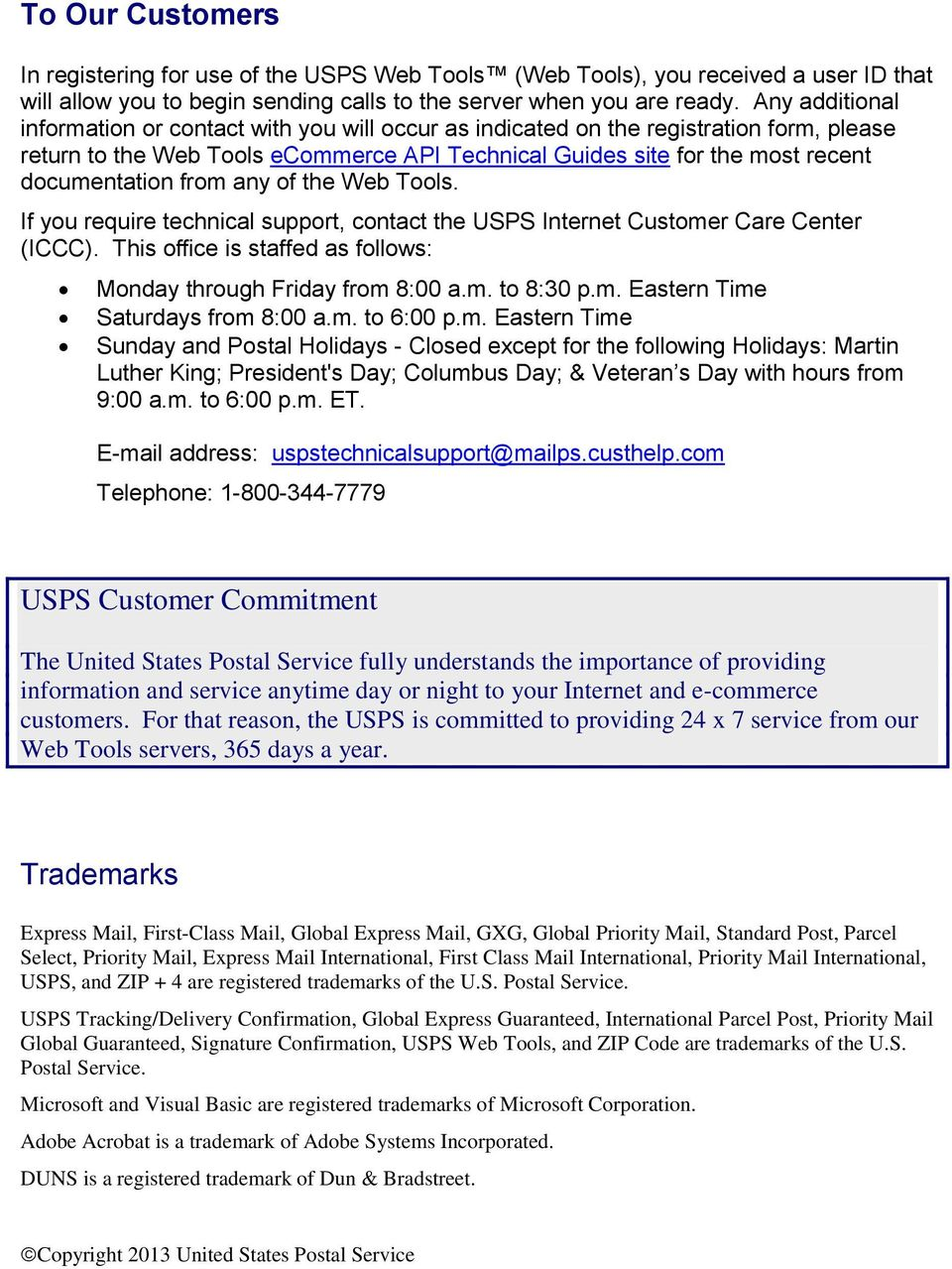 Package Pickup  USPS Web Tools Application Programming