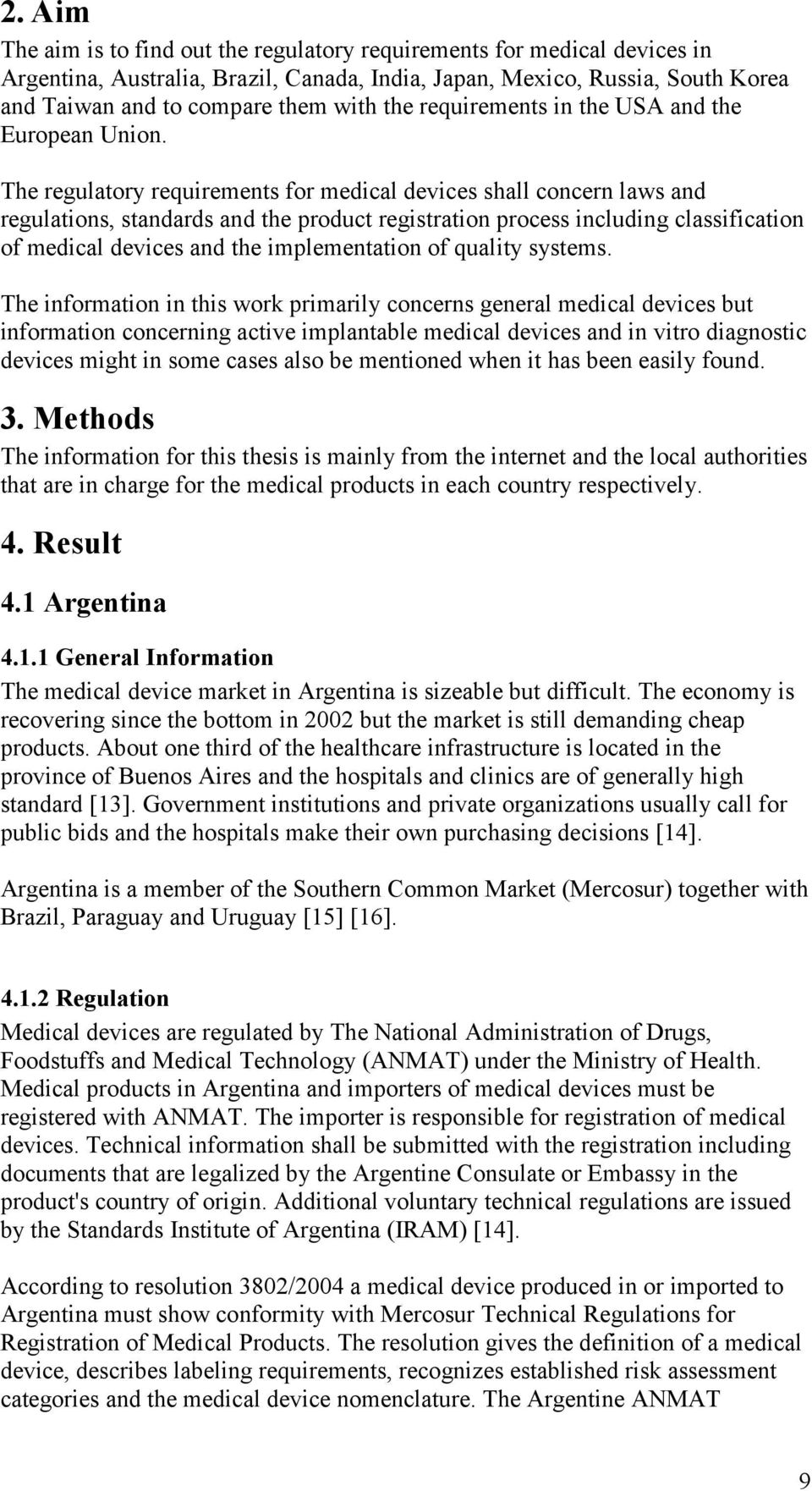 Global Regulatory Requirements for Medical Devices - PDF