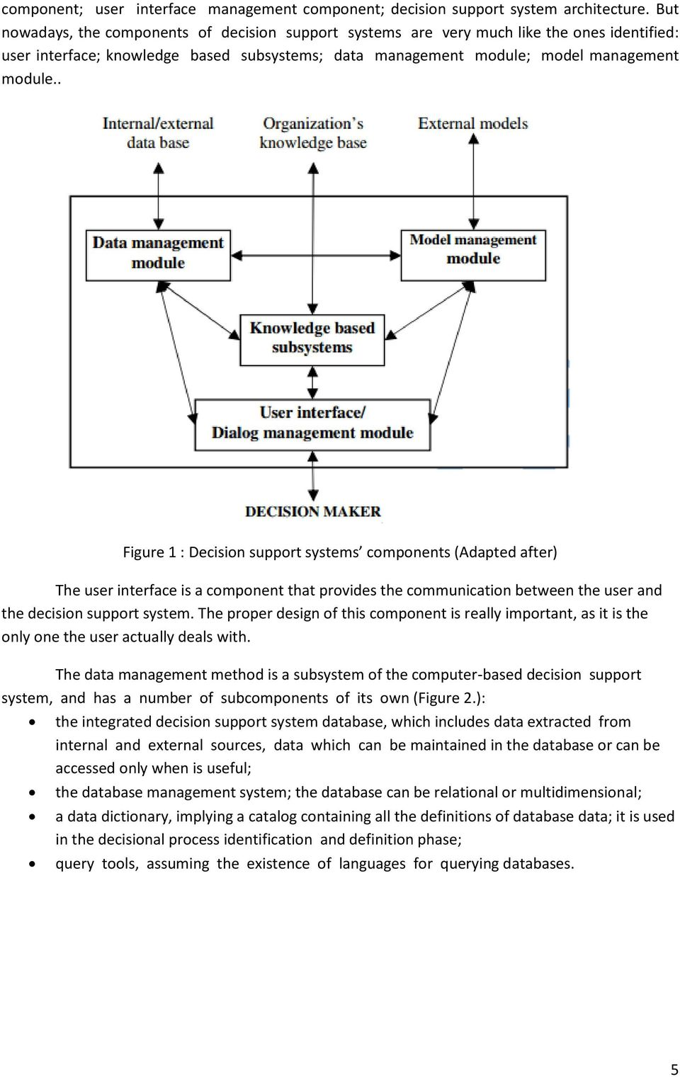 ASSIGNMENT OF ITM 613 DECISION SUPPORT SYSTEM - PDF