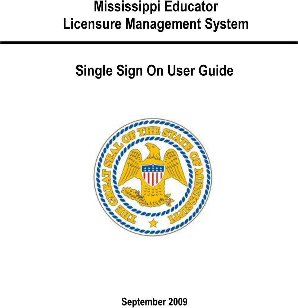 System Single Sign On