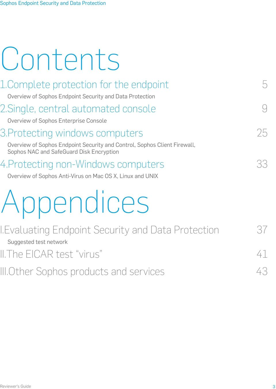 Sophos Endpoint Security and Data Protection - PDF