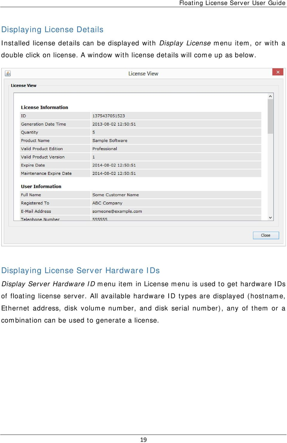 LICENSE4J FLOATING LICENSE SERVER USER GUIDE - PDF