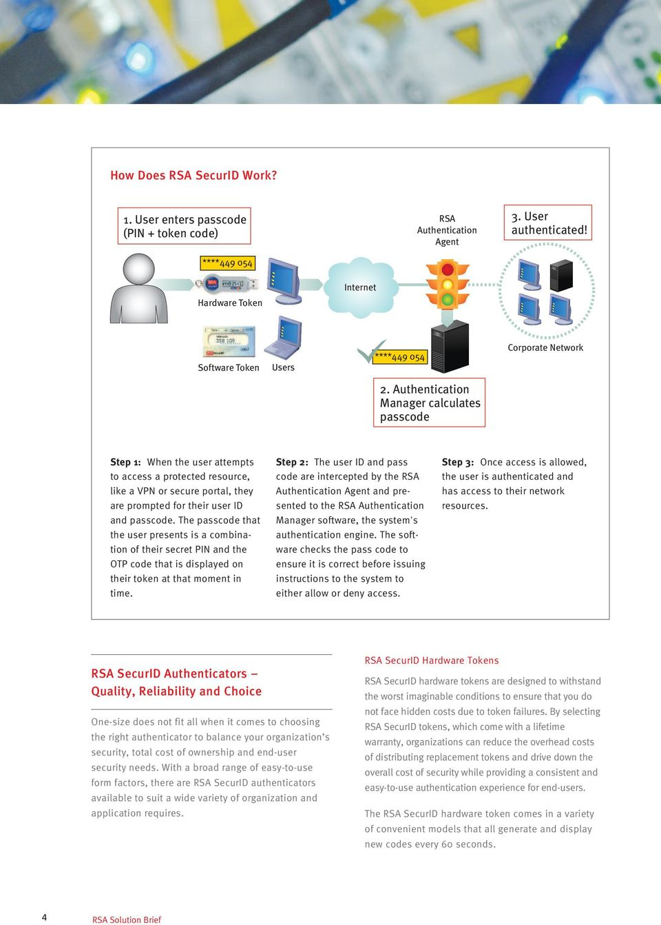 RSA SecurID Two-factor Authentication - PDF