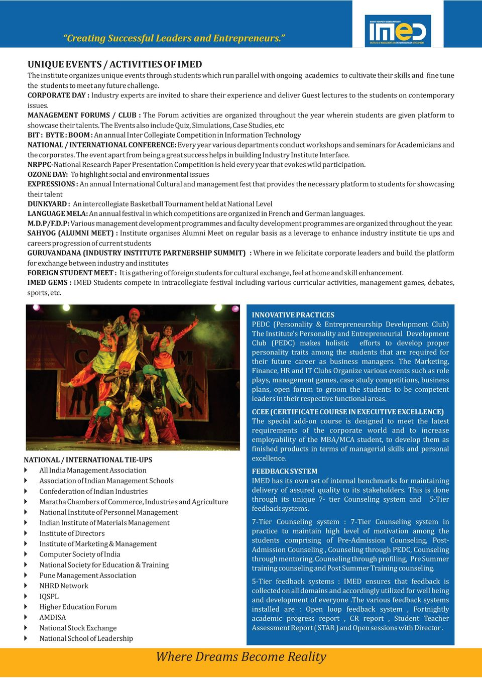 Institute Of Management And Entrepreneurship Development Erandawane Instructional Pamphlet On Sailing Forums Off Topic Forum Club The Activities Are Organized Throughout Year Wherein Students