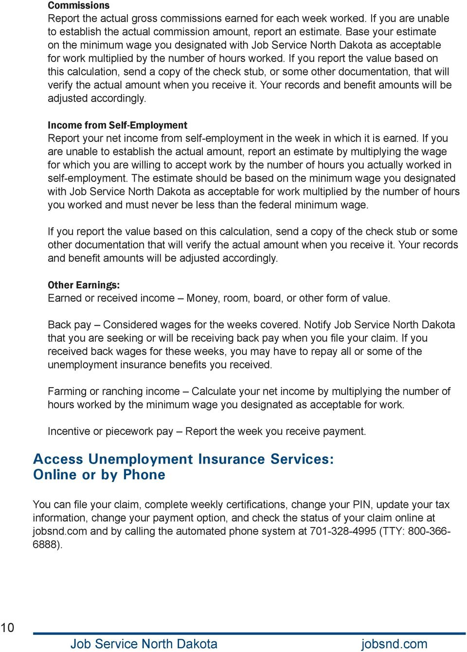 Unemployment Insurance Claimant Guide Pdf
