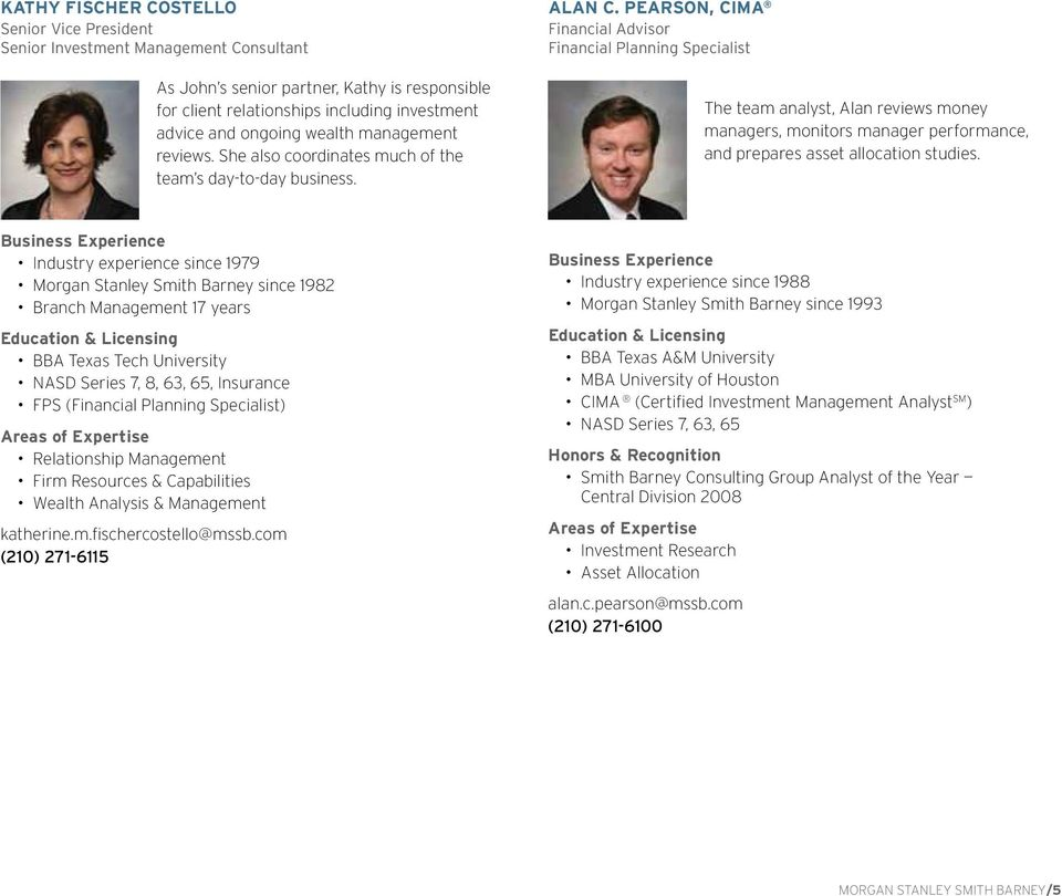 The Korbell Group at Morgan Stanley Smith Barney  Managing Your