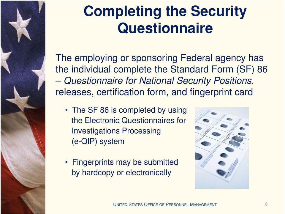 The Security Clearance And Investigation Process Pdf