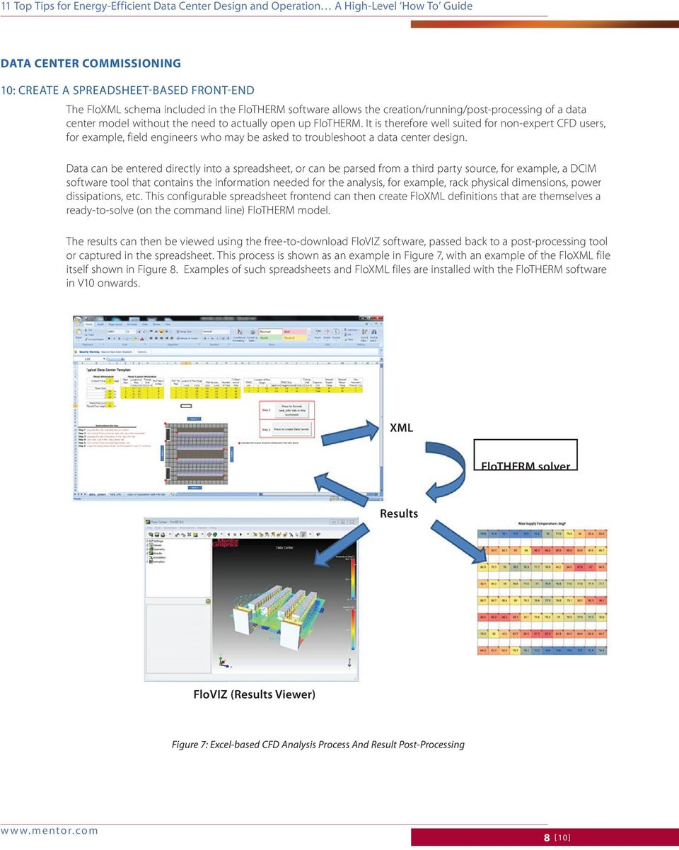 11 Top Tips For Energy Efficient Data Center Design And Operation Pdf Free Download