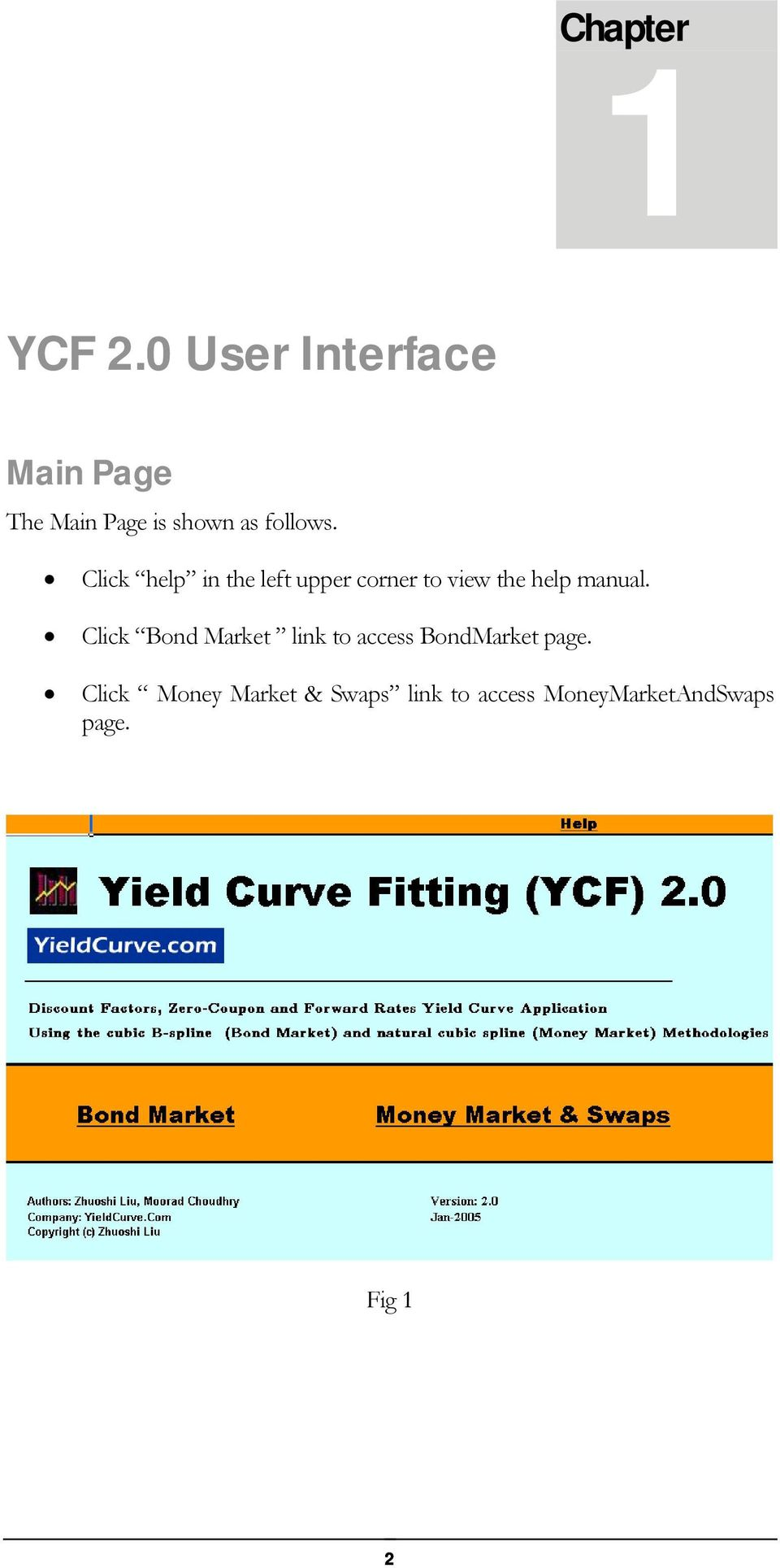 YIELD CURVE FITTING 2 0 Constructing Bond and Money Market Yield