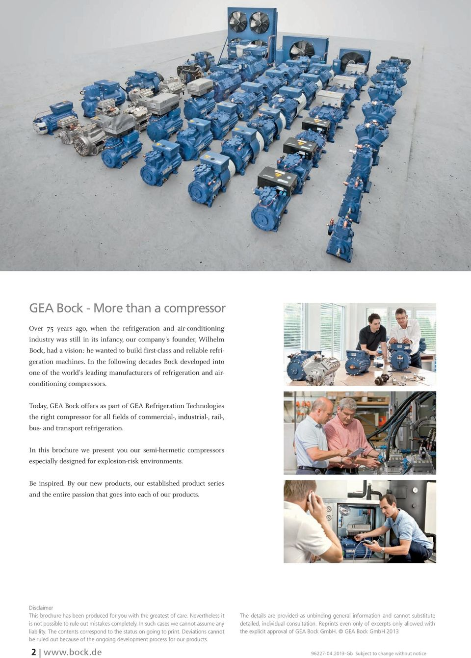 GEA Bock ATEX Compressors  Semi-hermetic Compressors in
